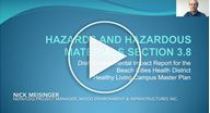 Hazards & Hazardous Materials